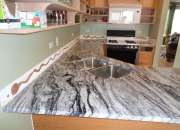 Best Sale of Silver Cloud Granite Kitchen Worktop London