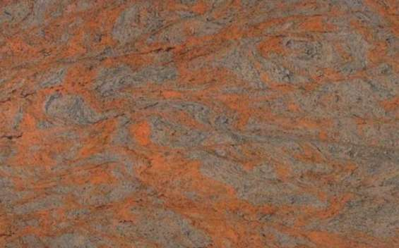 Numinous red granite kitchen countertops for low price london