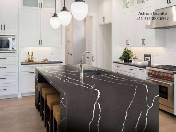 Buy gray marquina quartz | worktops, flooring, tiles at low price