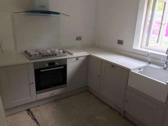 Bianco stratus | quartz kitchen countertops at best price london uk