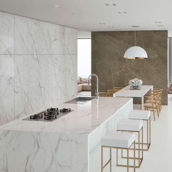 Buy calacatta vagli es marble kitchen countertops at cheap price