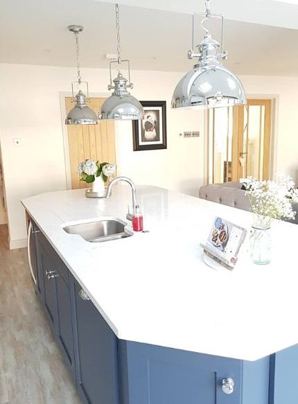 Cashmere quartz countertops   best kitchen design at best price london