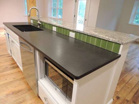 Angola black leather granite | kitchen worktop sale at best price in london