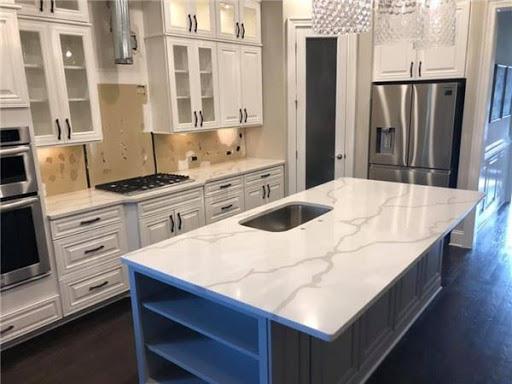 Calacatta creama marble   kitchen countertops at cheap price london
