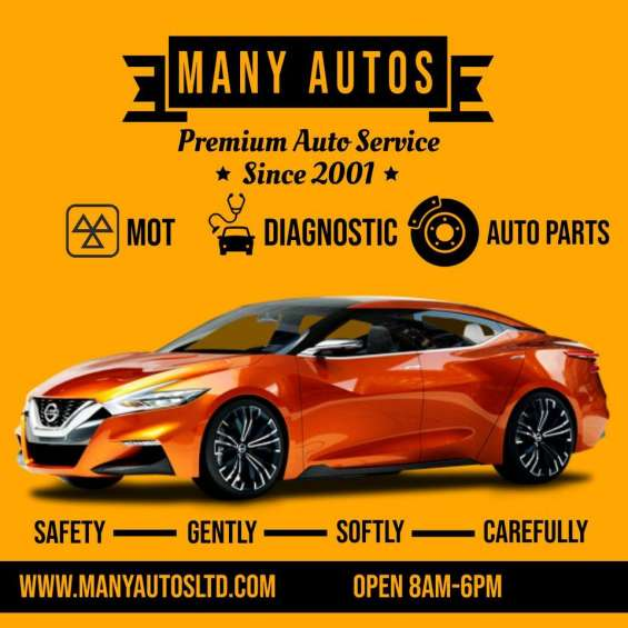 Trustworthy and affordable garage for mot test in uk