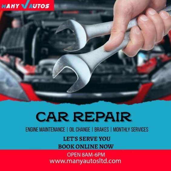 A damaged car can be risky