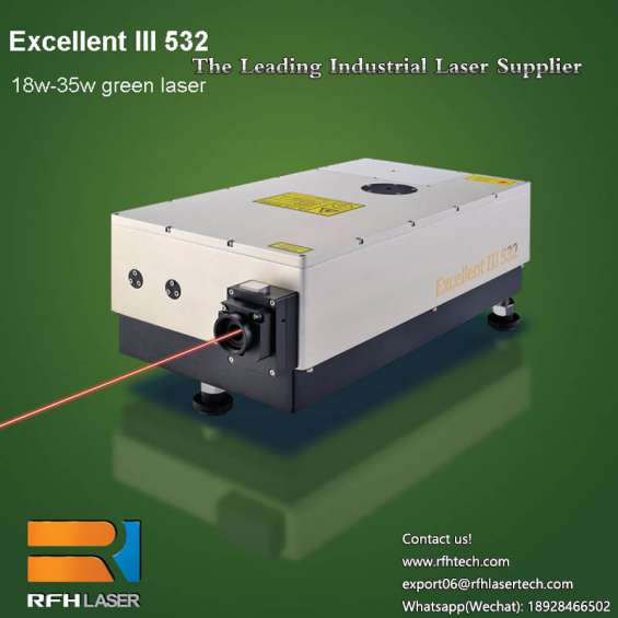 Rfh uv laser featuring cold processing is used to cut and depanel pcb/fpc