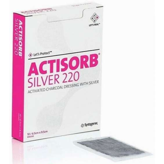 Actisorb silver 220 dressings   wound care products